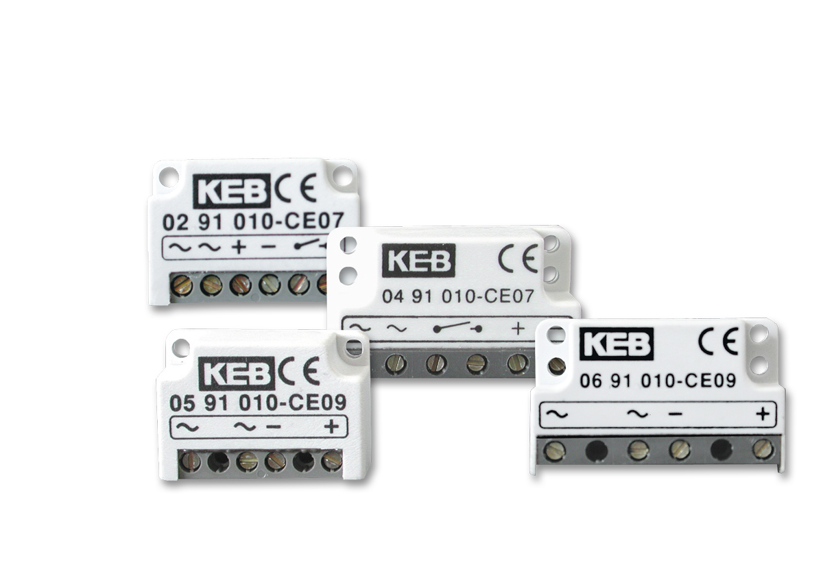 rectifiers supply and actuator modules